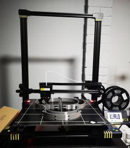 2nd 3D printer now up and running